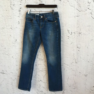 GAP 1969 26S REAL STRAIGHT JEANS
